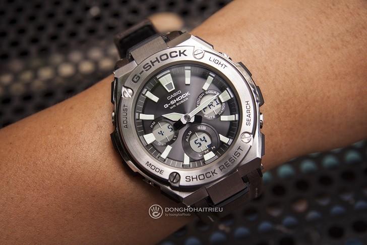 Đồng hồ G-Shock GST-S310-1ADR bộ máy năng lượng ánh sáng - Ảnh 4