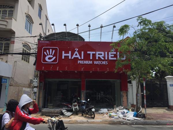 Review Nhanh Đồng Hồ Hải Triều Vũng Tàu Trước Ngày Khai Trương Mặt tiền Showroom