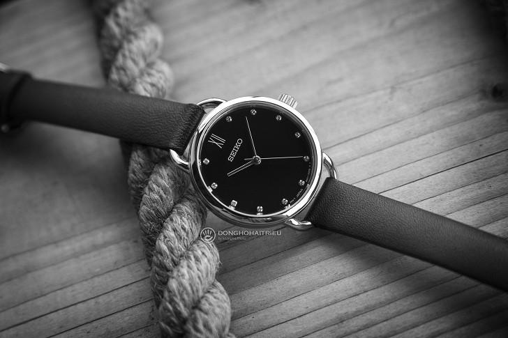 Đồng hồ Seiko SUR699P1 giá rẻ, thay pin miễn phí trọn đời - Ảnh 3