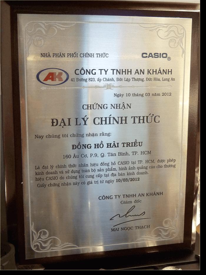 Shop Đồng Hồ Casio Chính Hãng Tại Cần Thơ 100% An Tâm Chất Lượng Đại Lý