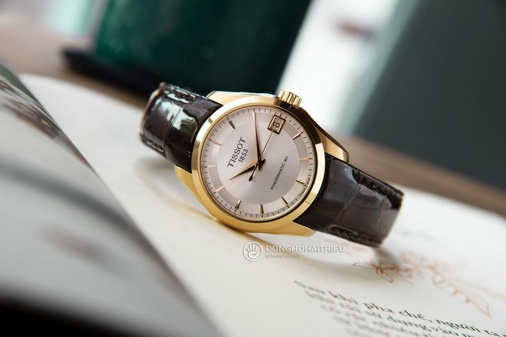 Đồng hồ Tissot T035.207.36.031.00 máy cơ Thuỵ Sỹ, trữ cót gấp đôi 80 giờ - Ảnh 1