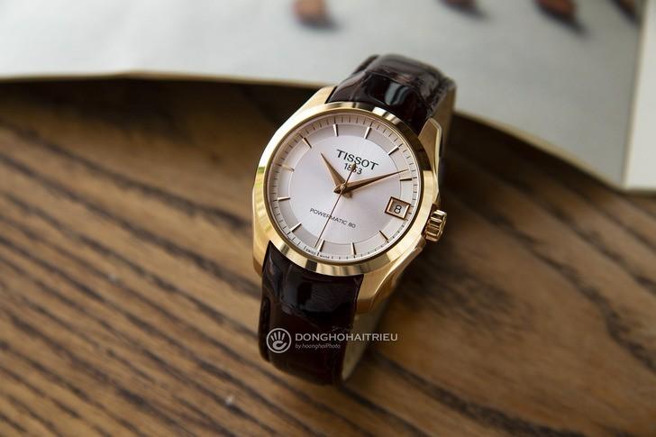 Đồng hồ Tissot T035.207.36.031.00 máy cơ Thuỵ Sỹ, trữ cót gấp đôi 80 giờ - Ảnh 2