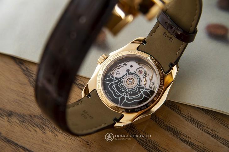 Đồng hồ Tissot T035.207.36.031.00 máy cơ Thuỵ Sỹ, trữ cót gấp đôi 80 giờ - Ảnh 4