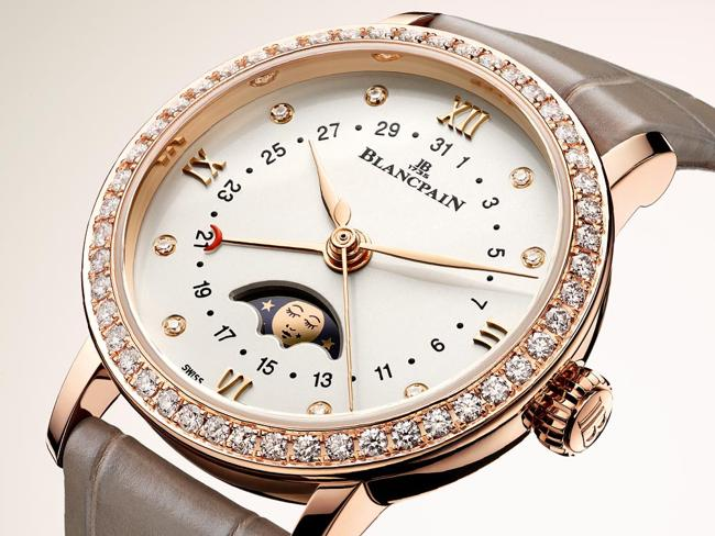 TOP 5 CHỨC NĂNG TRÌNH BÀY TRÊN ĐỒNG HỒ ĐẸP NHẤT THẾ GIỚI MỌI THỜI ĐẠI Top-5-chuc-nang-tren-dong-ho-dep-tao-nha-nhat-the-gioi-Blancpain-Villeret-Moon-Phase-Ladies-date-by-hand
