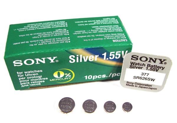 5 Thương Hiệu Pin Đồng Hồ Đeo Tay Nổi Tiếng Thế Giới Khuyên Dùng Sony