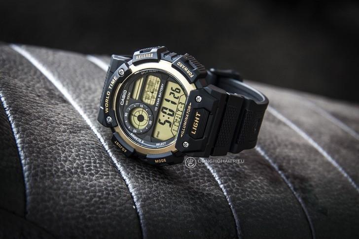 Đồng hồ Casio AE-1400WH-9AVDF giá rẻ, thay pin miễn phí - Ảnh 1