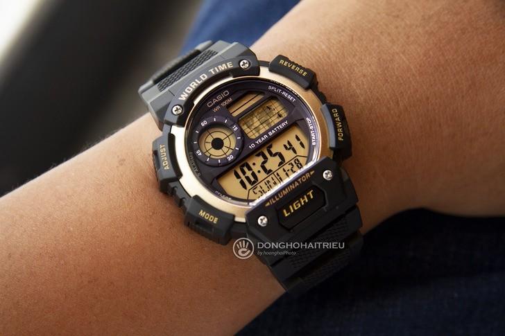 Đồng hồ Casio AE-1400WH-9AVDF giá rẻ, thay pin miễn phí - Ảnh 2