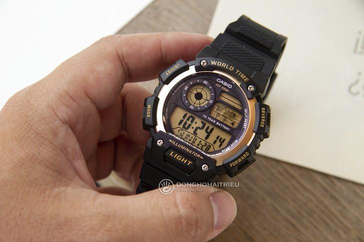 Đồng hồ Casio AE-1400WH-9AVDF giá rẻ, thay pin miễn phí - Ảnh 8
