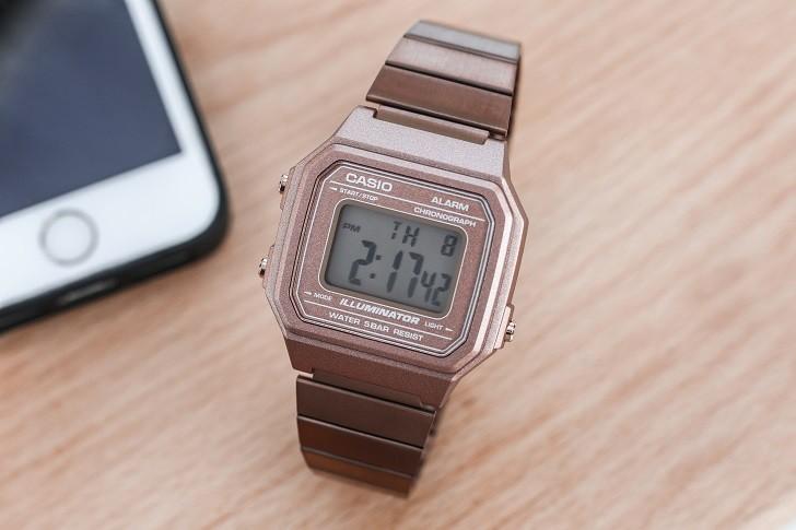 Casio B650WC-5ADF đồng hồ điện tử tông màu hồng trẻ trung - Ảnh 3