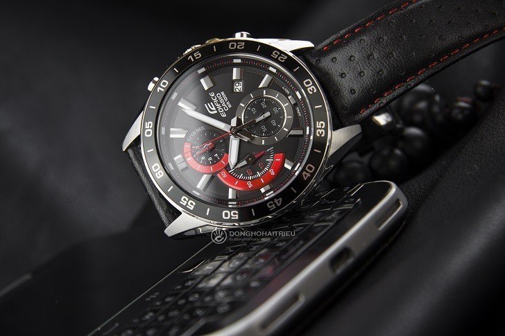 Đồng hồ Casio EFV-550L-1AVUDF WR100m, có Chronograph - Ảnh: 2