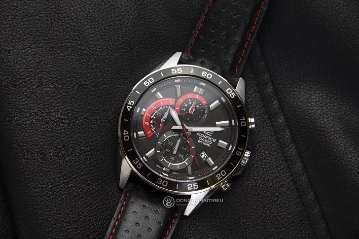 Đồng hồ Casio EFV-550L-1AVUDF WR100m, có Chronograph - Ảnh: 4