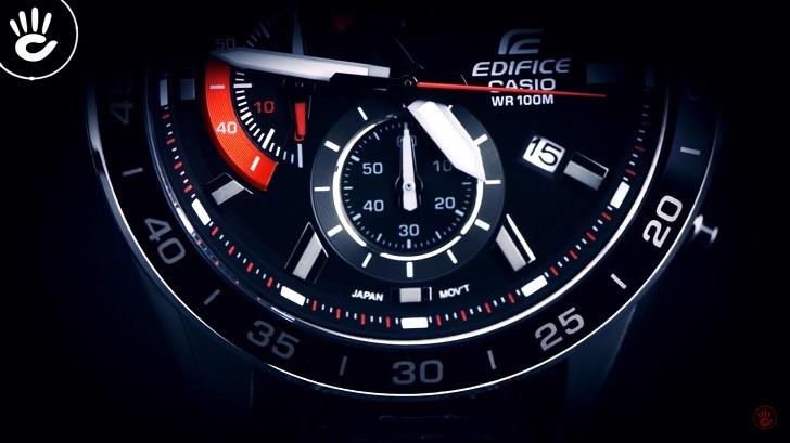 Đồng hồ Casio EFV-550L-1AVUDF WR100m, có Chronograph - Ảnh: 5