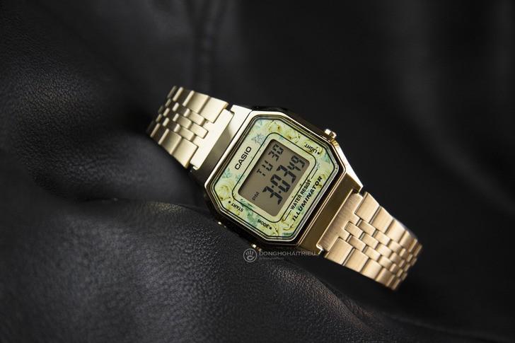 Đồng hồ Casio LA680WGA-9CDF giá rẻ, được thay pin miễn phí - Ảnh 1