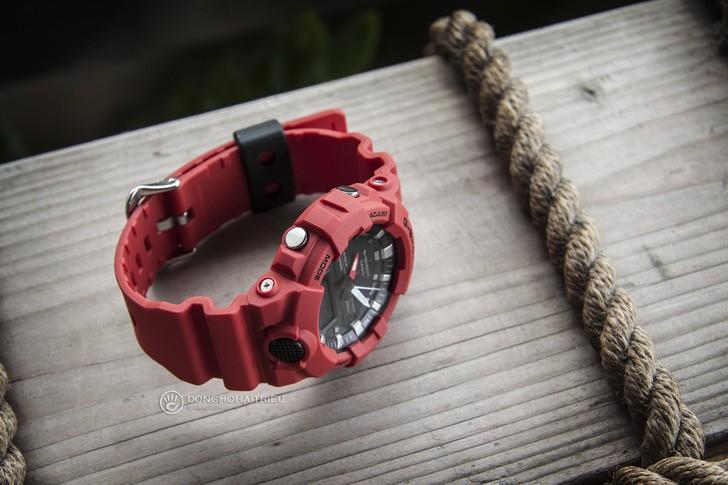 Đồng hồ G-Shock GA-800-4ADR giá rẻ, free thay pin trọn đời - Ảnh 5