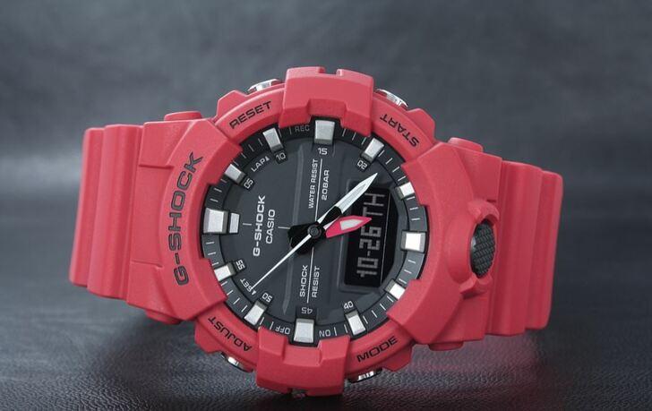 Đồng hồ G-Shock GA-800-4ADR giá rẻ, free thay pin trọn đời - Ảnh 6