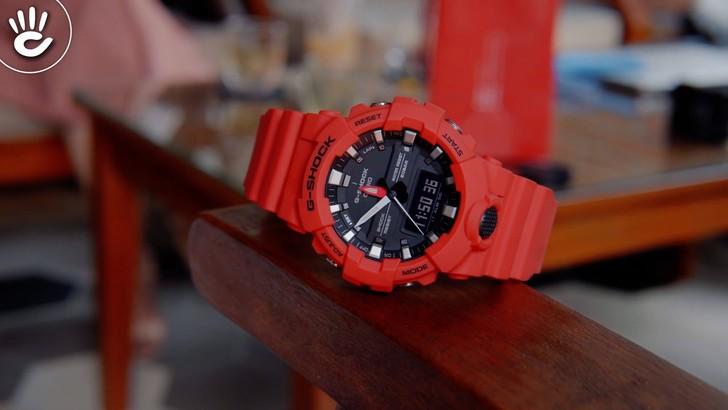 Đồng hồ G-Shock GA-800-4ADR giá rẻ, free thay pin trọn đời - Ảnh 7
