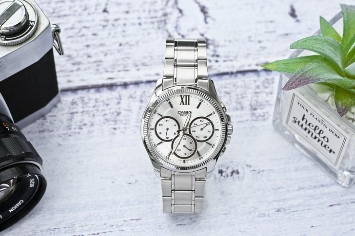 Đồng hồ Casio MTP-E315D-7AVDF giá rẻ, thay pin miễn phí - Ảnh 1
