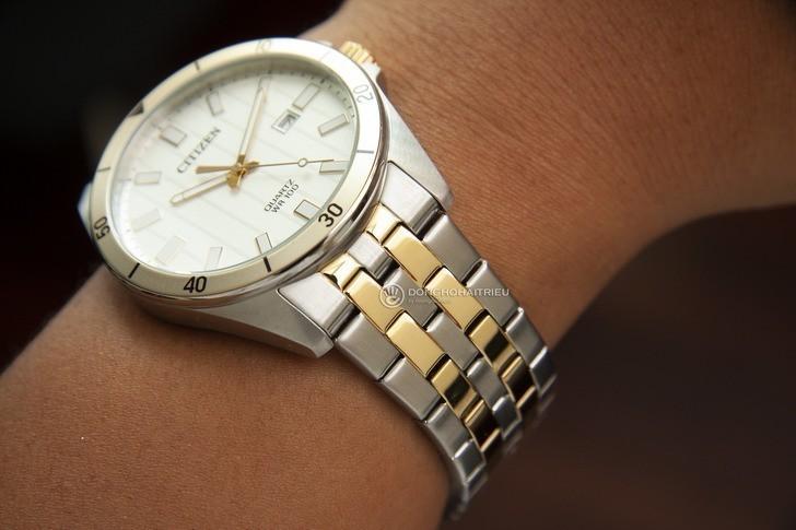 Đồng hồ nam Citizen BI5056-58A giá rẻ, thay pin miễn phí - Ảnh 1