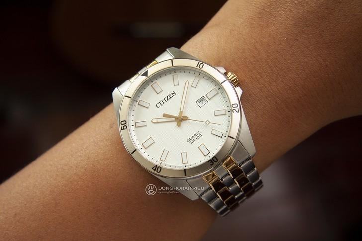 Đồng hồ nam Citizen BI5056-58A giá rẻ, thay pin miễn phí - Ảnh 2