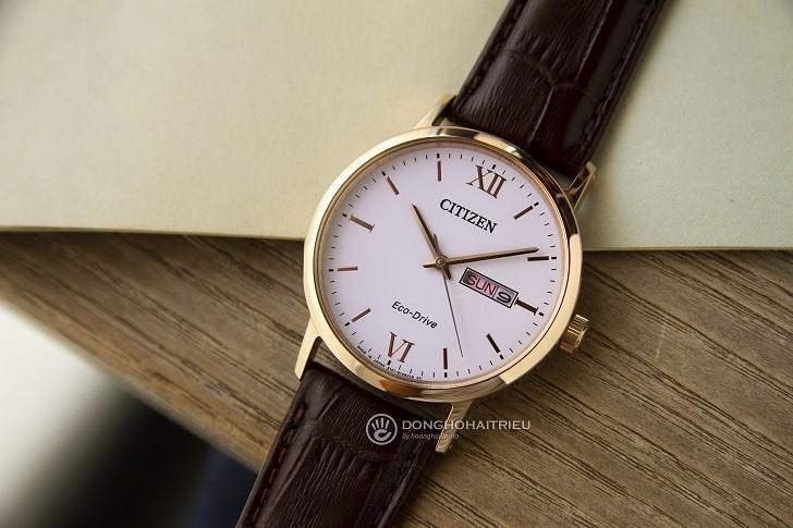 Đồng hồ Citizen BM9012-02A dùng máy Eco-Drive pin 10 năm - Ảnh 2