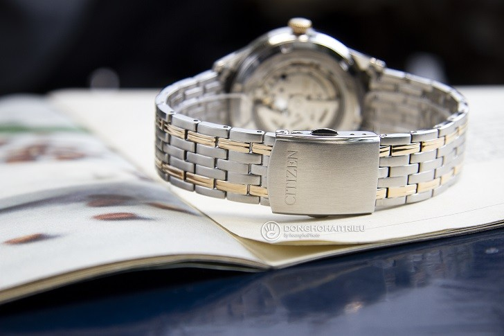 Đồng hồ Citizen NP1026-86A thiết kế Open Heart sang trọng - Ảnh 6