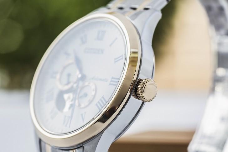 Đồng hồ Citizen NP1026-86A thiết kế Open Heart sang trọng - Ảnh 7