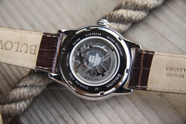 Đồng Hồ Cơ Lộ Máy Bulova 96A120 Khiến Ai Chết Mê Chết Mệt Máy Miyota 82S7