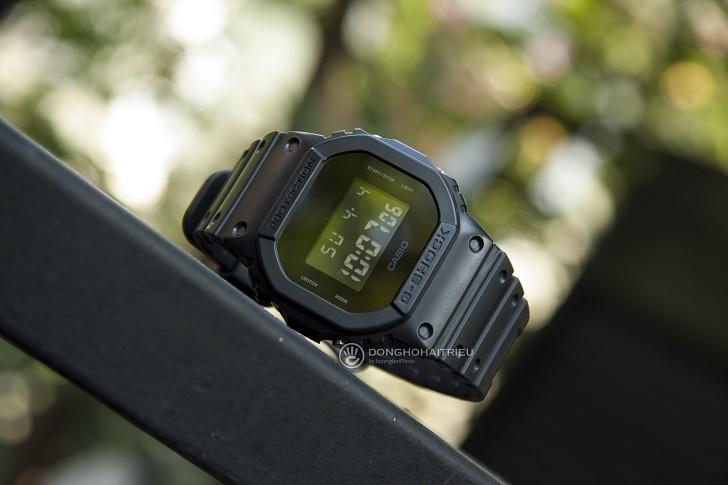 Đồng hồ G-Shock DW-5600BB-1DR chống nước 200m, bơi lặn - Ảnh: 3