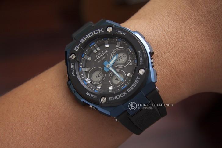 Đồng hồ G-Shock GST-S300G-1A2DR máy năng lượng ánh sáng - Ảnh 1