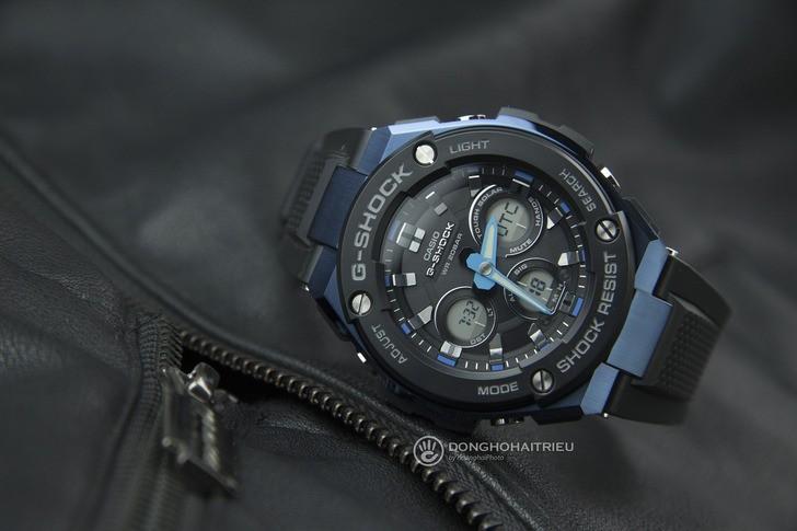 Đồng hồ G-Shock GST-S300G-1A2DR máy năng lượng ánh sáng - Ảnh 3