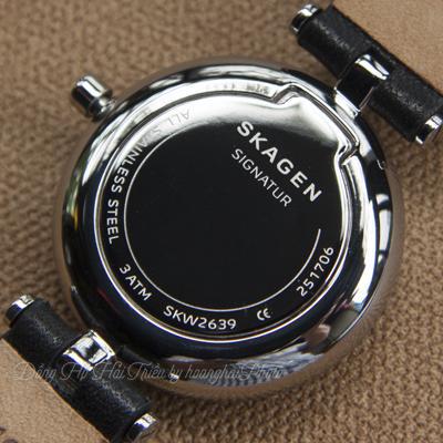 Giải Đáp: Đồng Hồ Chống Nước 3ATM Có Tắm Được Không? Skagen-SKW2640