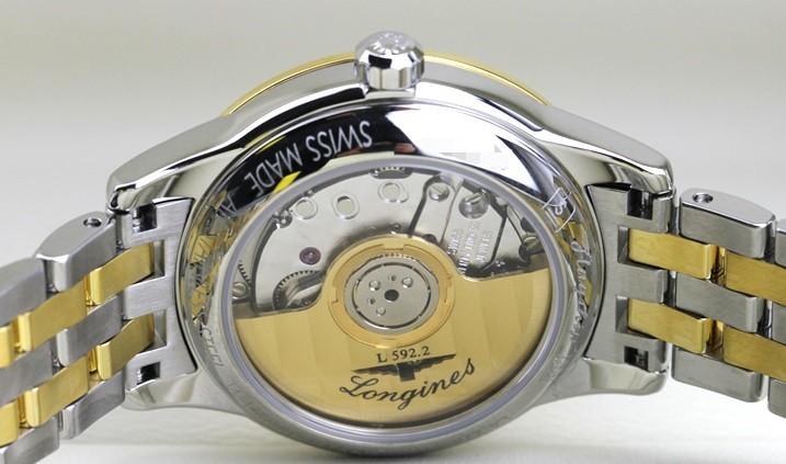 Đồng hồ Longines L4.274.3.27.7 siêu mỏng, đính kim cương - Ảnh: 3