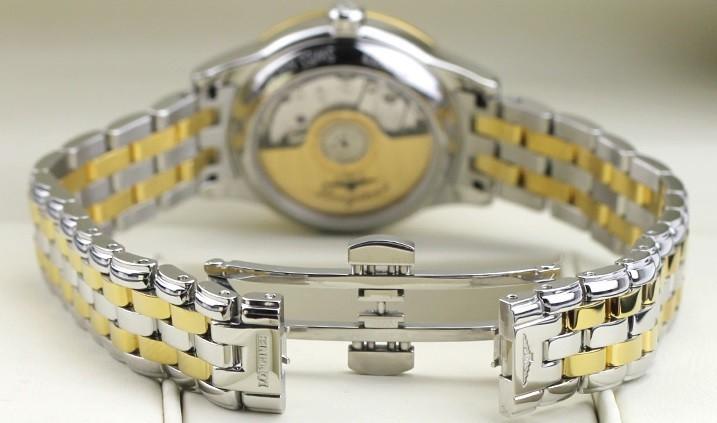 Đồng hồ Longines L4.274.3.27.7 siêu mỏng, đính kim cương - Ảnh: 4