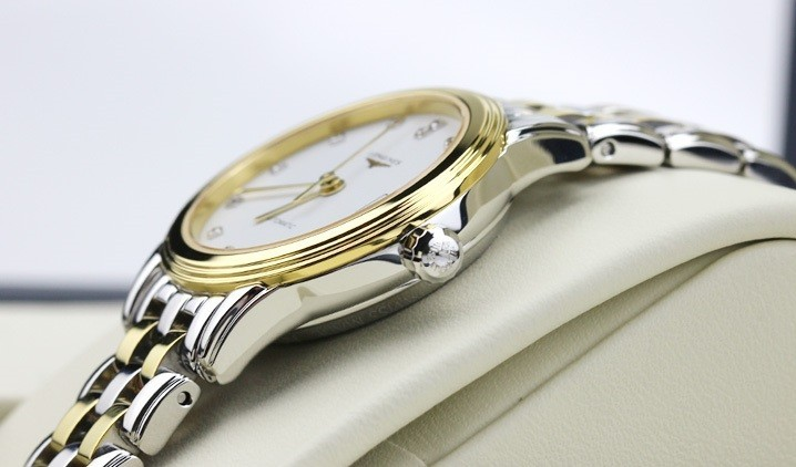 Đồng hồ Longines L4.274.3.27.7 siêu mỏng, đính kim cương - Ảnh: 5