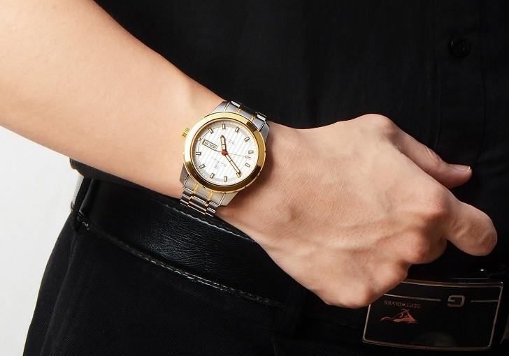 Đồng hồ OP 993AGSK-T-6 kính Sapphire, dây demi sang trọng - Ảnh 4