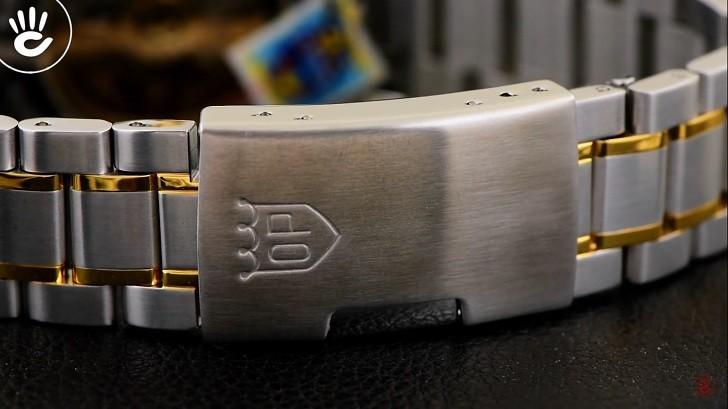 Đồng hồ OP 993AGSK-T-6 kính Sapphire, dây demi sang trọng - Ảnh 6
