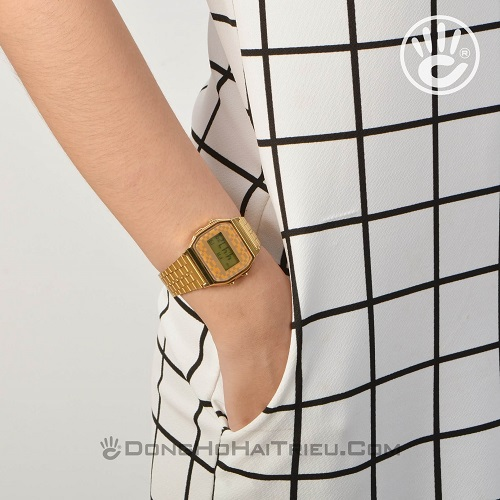 Bộ 3 Mẫu Đồng Hồ Casio Nữ Màu Vàng Giá Chỉ Hơn 1 Triệu Đồng - Casio A159WGEA-9ADF