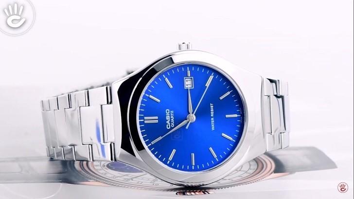 Đồng hồ Casio MTP-1170A-2ARDF sở hữu sắc xanh ấn tượng - Ảnh 2