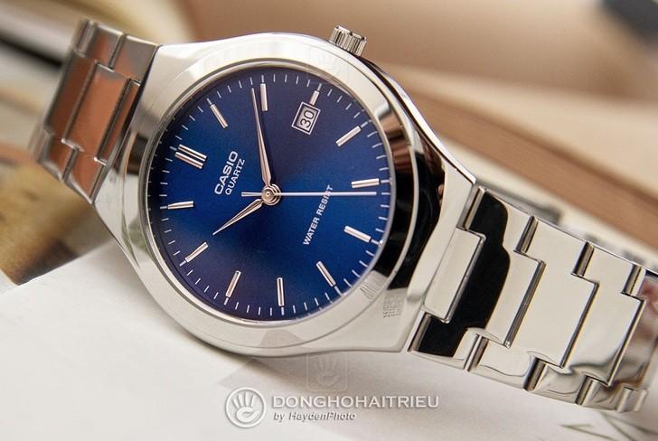 Đồng hồ Casio MTP-1170A-2ARDF sở hữu sắc xanh ấn tượng - Ảnh 3