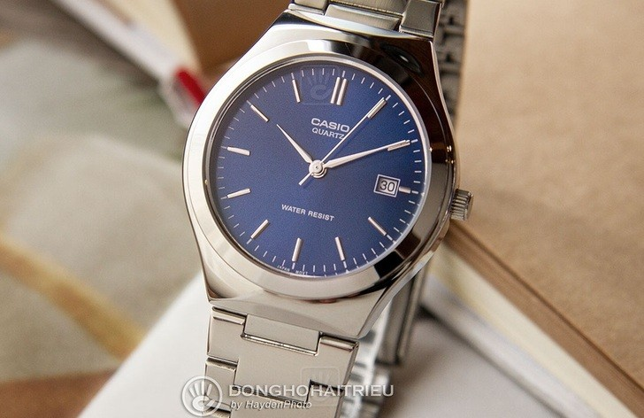 Đồng hồ Casio MTP-1170A-2ARDF sở hữu sắc xanh ấn tượng - Ảnh 4