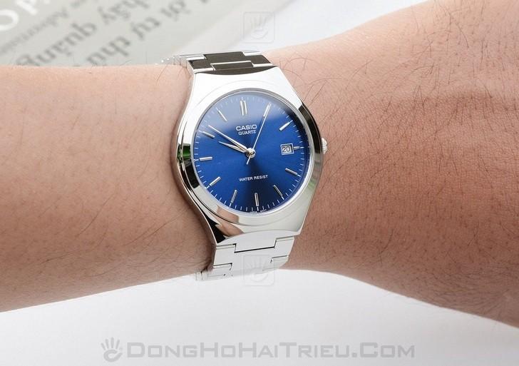 Đồng hồ Casio MTP-1170A-2ARDF sở hữu sắc xanh ấn tượng - Ảnh 1