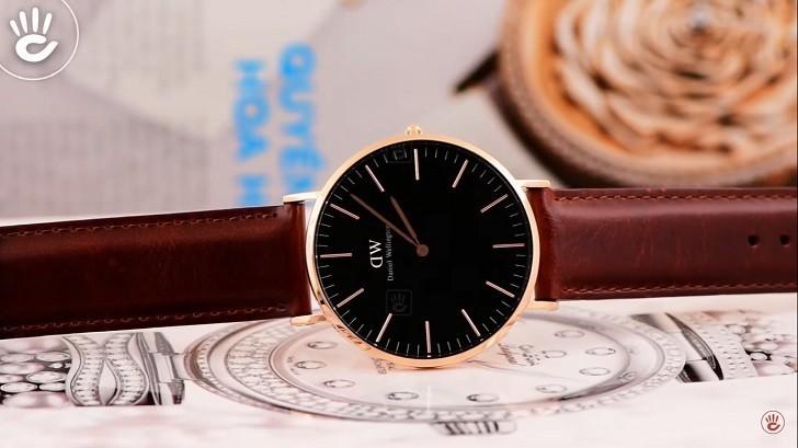 Đồng hồ nam Daniel Wellington DW00100124 thay pin miễn phí - Ảnh 1