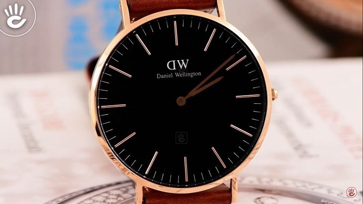 Đồng hồ nam Daniel Wellington DW00100124 thay pin miễn phí - Ảnh 3
