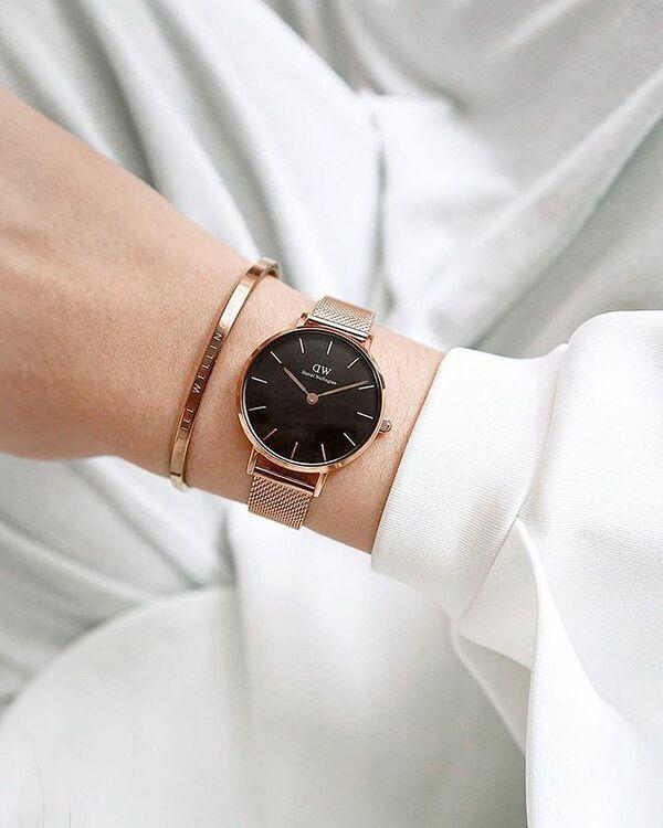 Đồng hồ nữ Daniel Wellington DW00100217 thay pin miễn phí - Ảnh 1