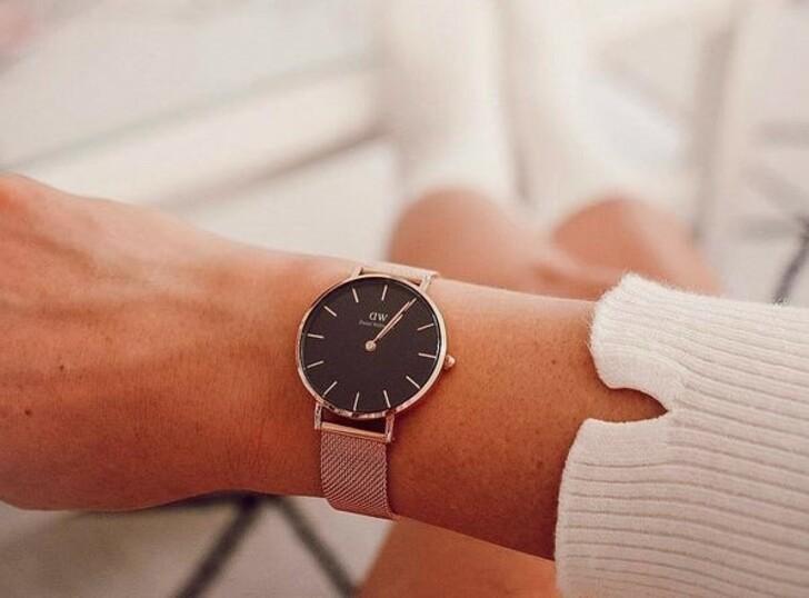 Đồng hồ nữ Daniel Wellington DW00100217 thay pin miễn phí - Ảnh 5