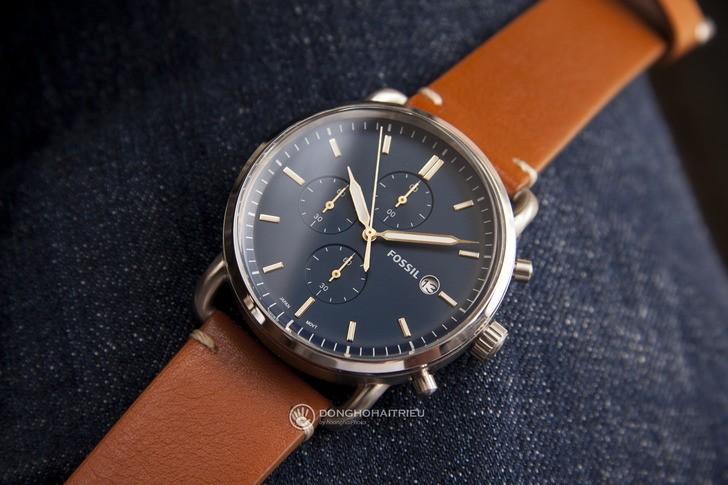 Đồng hồ Fossil FS5401: thiết kế cổ điển, lịch lãm và nam tính - Ảnh 1