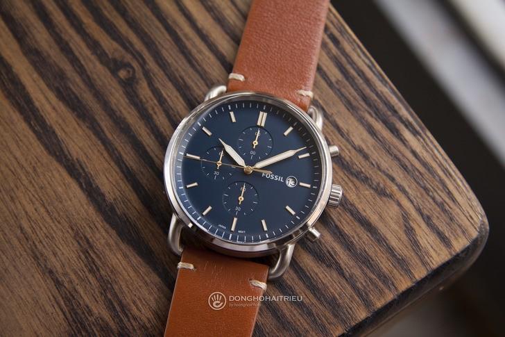 Đồng hồ Fossil FS5401: thiết kế cổ điển, lịch lãm và nam tính - Ảnh 2