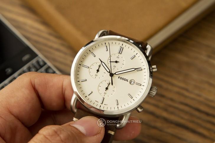 Đồng hồ Fossil FS5402 giá rẻ, miễn phí thay pin trọn đời - Ảnh 1