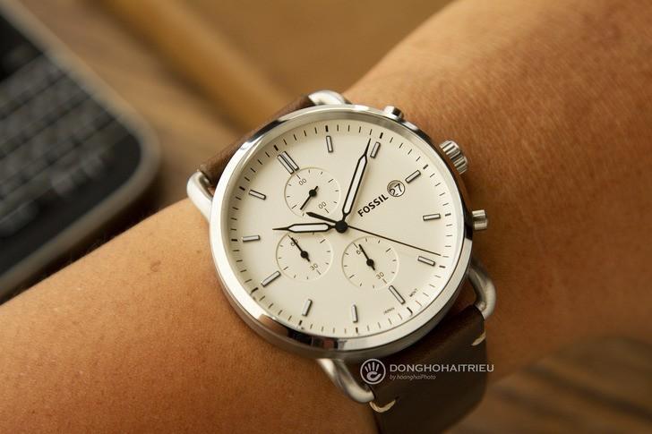Đồng hồ Fossil FS5402 giá rẻ, miễn phí thay pin trọn đời - Ảnh 2