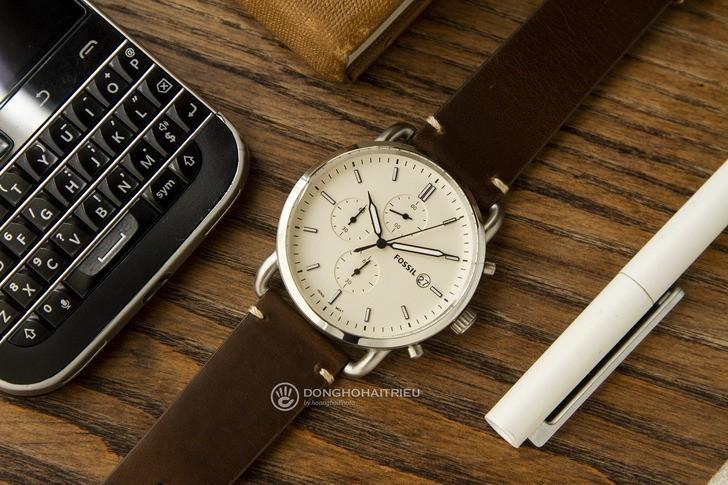 Đồng hồ Fossil FS5402 giá rẻ, miễn phí thay pin trọn đời - Ảnh 3